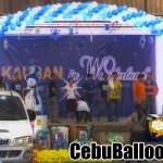 Balloon Arch at Metaphil (Aboitiz)