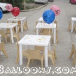 Kiddie Tables & Chairs for Rent