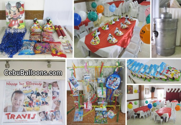 Mickey Mouse Birthday Party Package at Maria Lina
