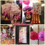 Minnie Mouse arty Party Balloons and Supplies