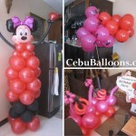 Red Minnie Mouse Decoration at BF Country Homes