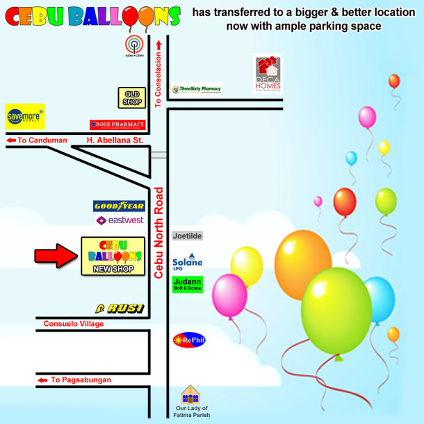 Sketch of Cebu Balloons New Location in Basak, Mandaue City