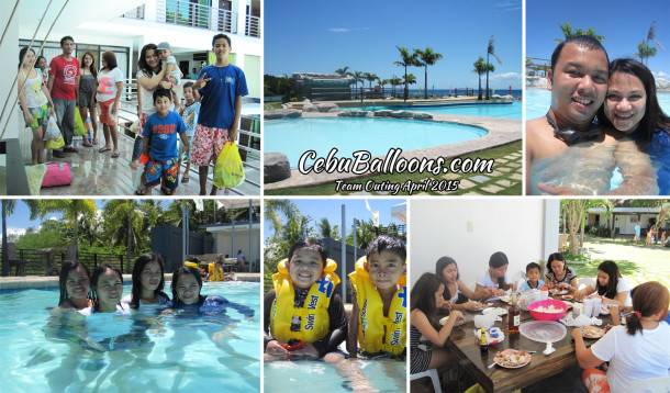 Team Outing April 2015 at Paolo Luna Resort San Fernando