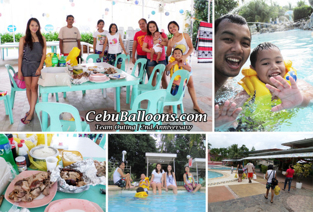 Team Outing for 2nd Anniversary at Intosan Resort Danao