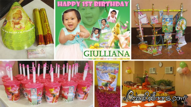 Tinkerbell Birthday Party Package