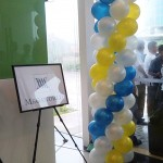 8ft Balloon Column for Megaworld
