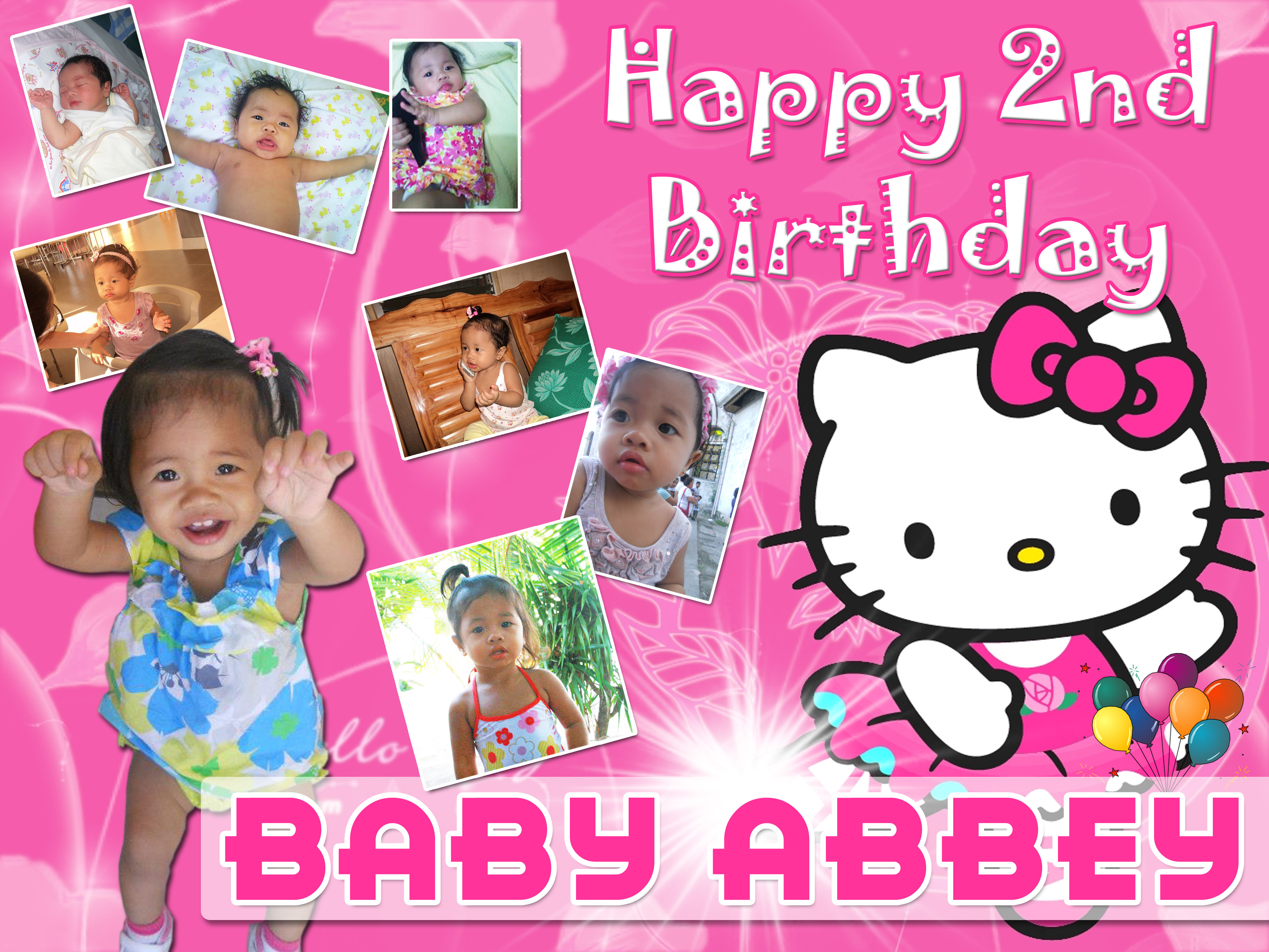Abbey's 2nd Birthday (Hello Kitty Theme) | Cebu Balloons ...