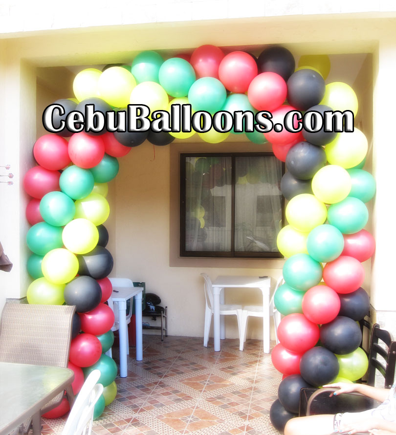 Balloon Arch For House Blessing Cebu Balloons And Party Supplies