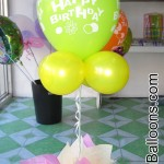 Balloon Centerpiece (Lime)