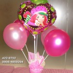 Balloon Centerpiece (Strawberry Shortcake)