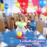 Balloon Centerpiece (Stuffed Balloon)