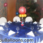 Balloon Centerpiece at Casino Espanol