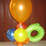 Balloon Centerpiece (Simple)