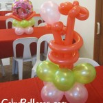 Balloon Centerpieces with different designs