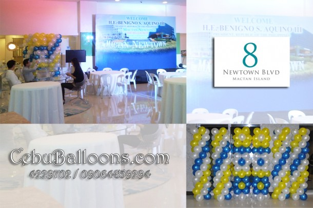 Balloon Columns for Mactan Newtown