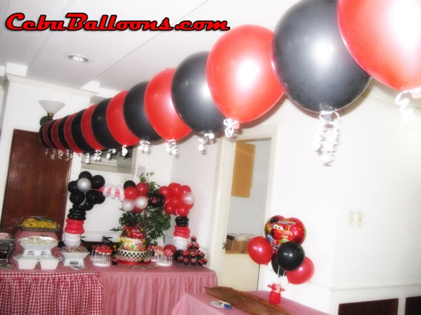 Balloon Decoration (Cars Theme)