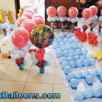 Messy Balloon Decors