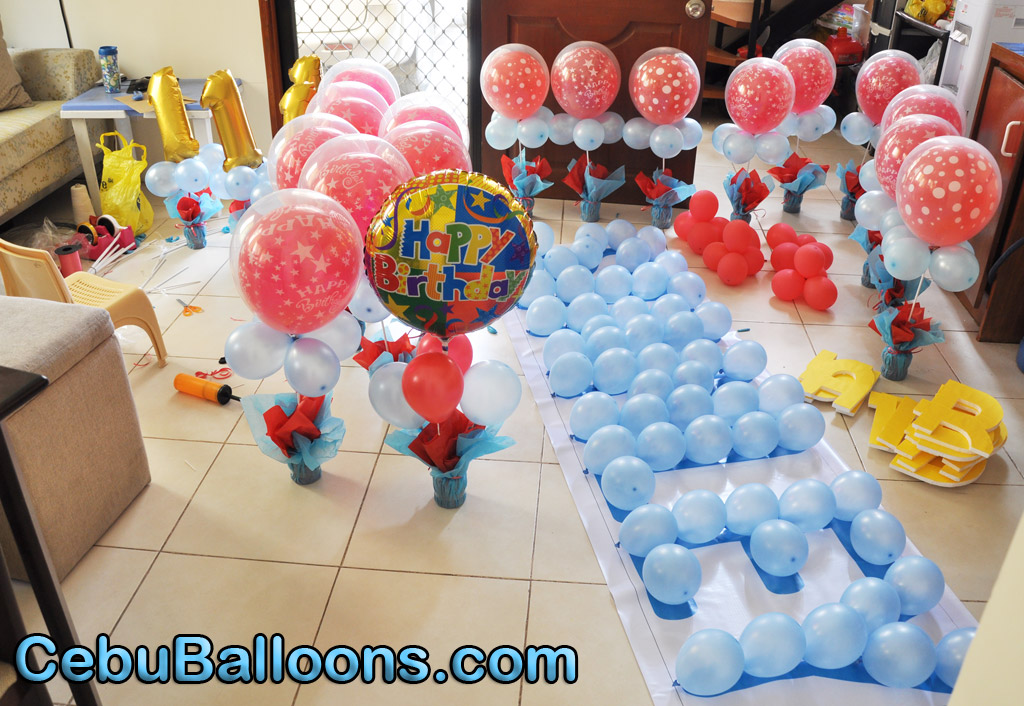 Balloon decoration tinker bell theme cebu balloons and for Balloon decoration gallery