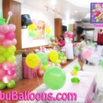 Balloon Decoration (Tinker Bell Theme)