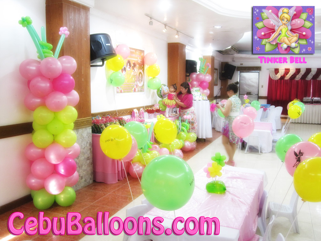 Tinkerbell Cebu Balloons and Party Supplies