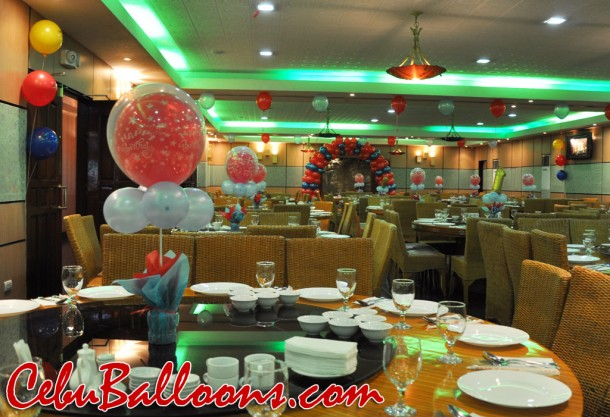 Balloon Decoration at Ching Palace