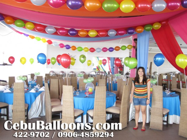Balloon Decoration at Margarita's Family Cuisine