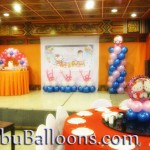 Balloon Design at White Gold House (Hello Kitty)
