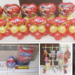 Cars (Lightning McQueen) Party Package with Balloons at Brookfields Mactan