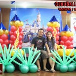 Castle Theme Balloons at Casino Espanol