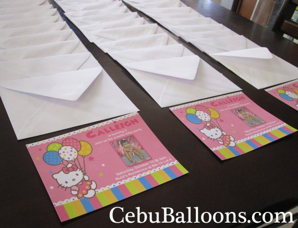 Customized Invitations with Envelope