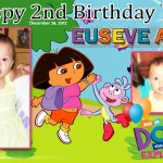 Euseve Ann 2nd Birthday Dora