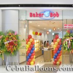 Balloon Colums for Baker Bob Grand Opening