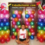 Hawaiian Balloon Column Design