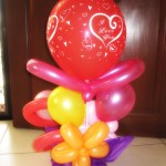 I love you Balloon Design
