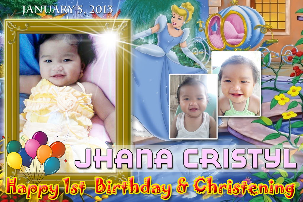Tarpaulin Design | Cebu Balloons and Party Supplies