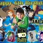 Jireh's 6th Birthday (Ben10)