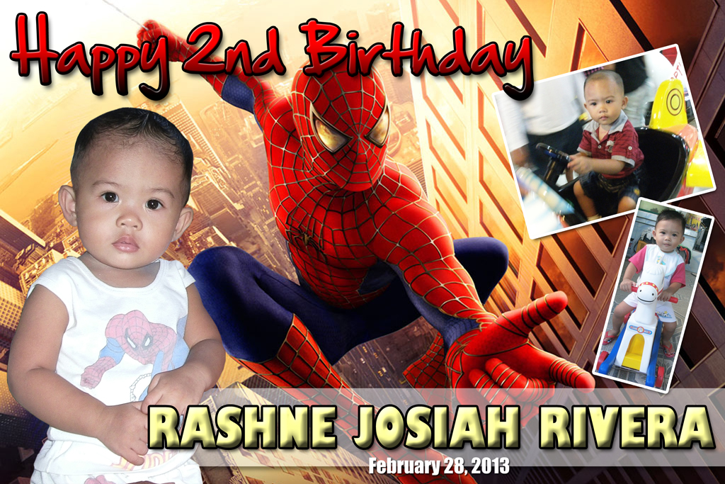 Jos' 2nd Birthday (Spiderman Theme) | Cebu Balloons and Party Supplies