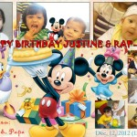 Justine & Raprap's Birthday (Mickey & Friends)