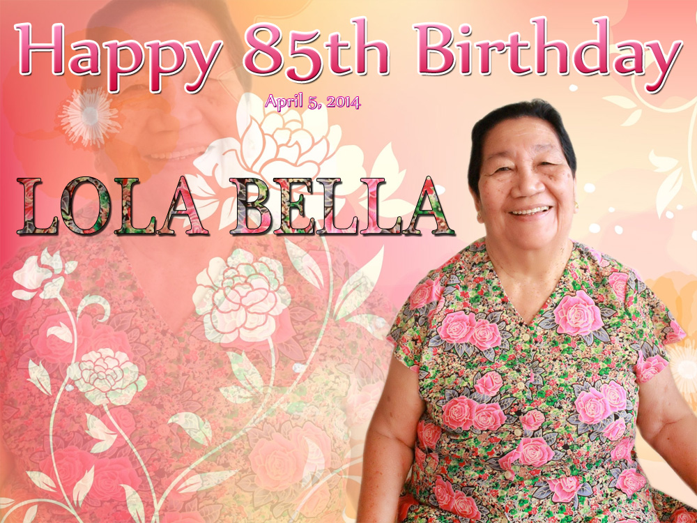 Lola Bellas 85th Birthday