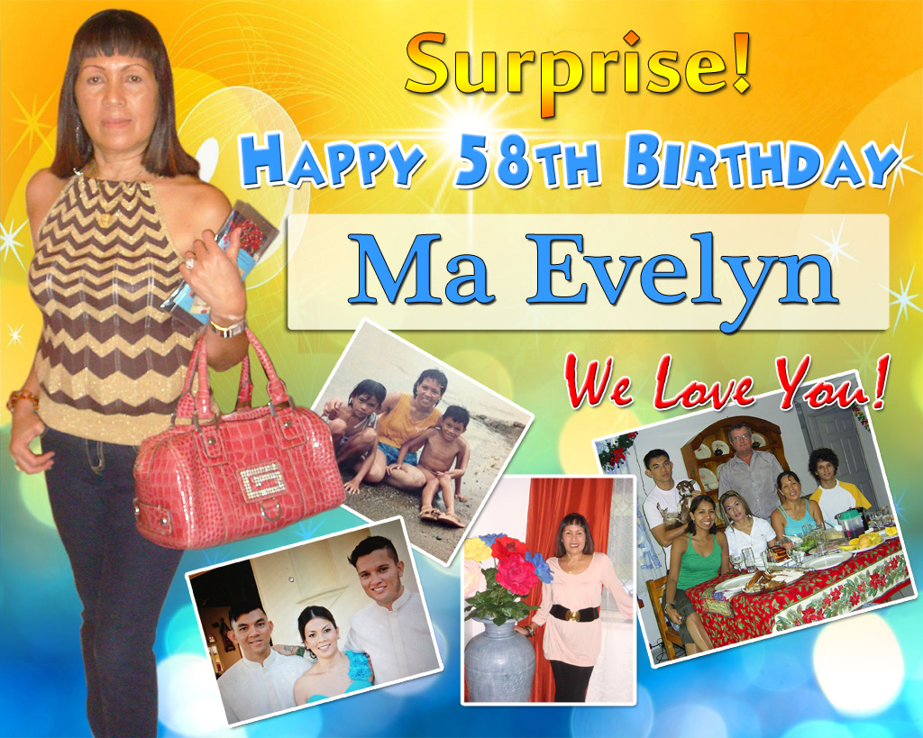 Ma Evelyn's Surprise Birthday Party