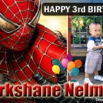 Markshane's 3rd Birthday (Spiderman)