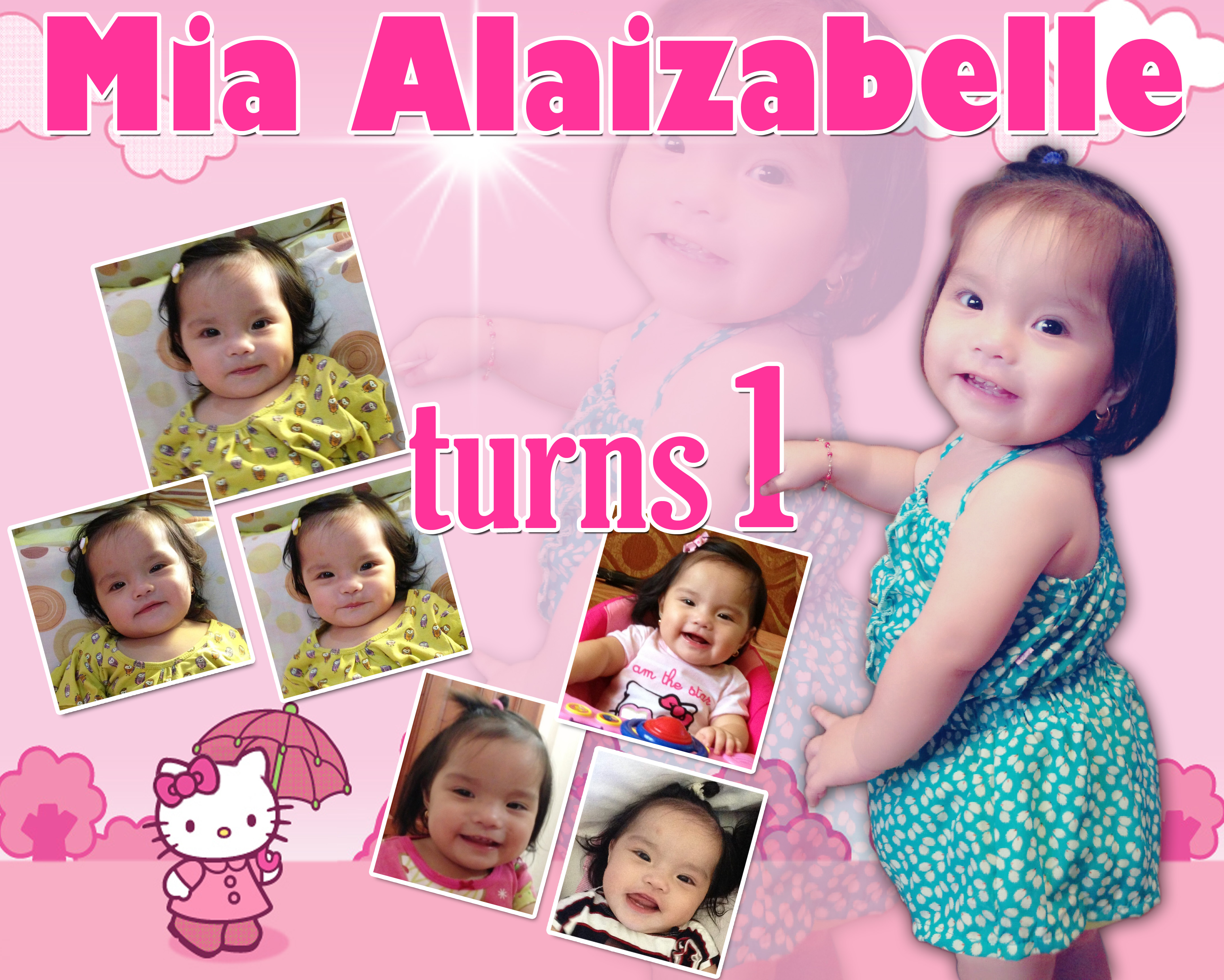 Mia Alaizabelle S Turns 1 Hello Kitty Theme Cebu Balloons And