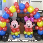 Mickey & Minnie Centerpiece with Cake Arch