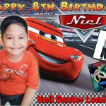 Niel Dexter's 8th Birthday Lightning McQueen Design