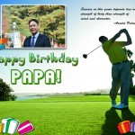Papa's Birthday (Golf Theme)