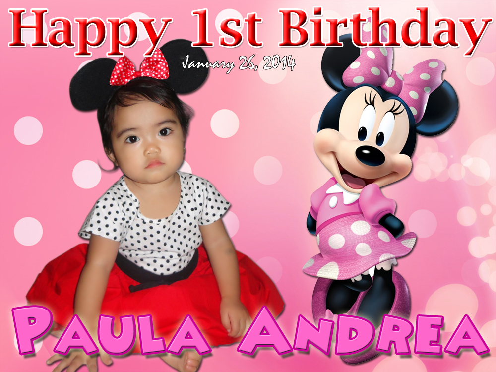 Paula Andreas Minnie Mouse Design