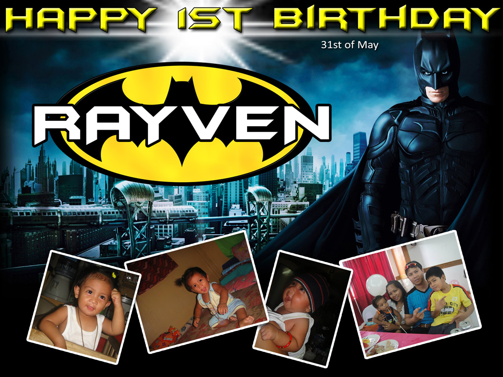 Rayven's 1st Birthday (Batman) | Cebu Balloons and Party Supplies