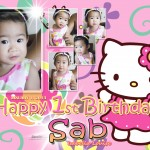 Sab's 1st Birthday (Hello Kitty)