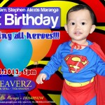 Sam's Birthday Invitation (Superman)