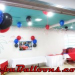 Simple Balloon Decoration at Baseline Restaurant